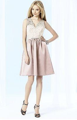#lace bridesmaid dress #cocktail #aftersix