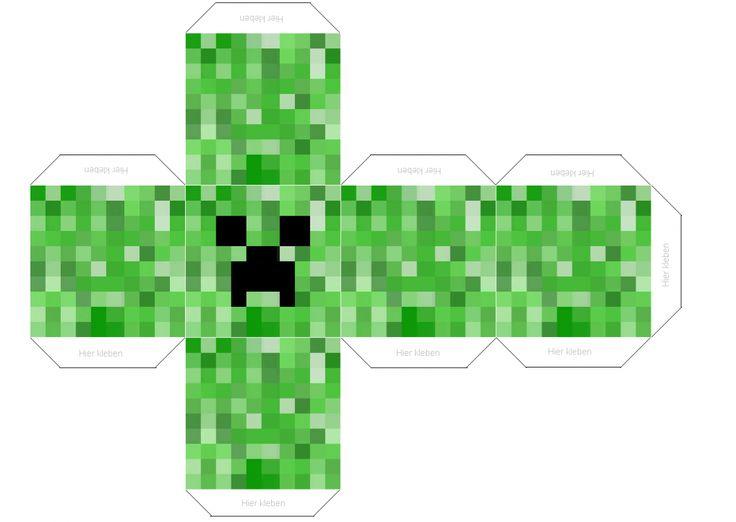 Creeper:Kopf - MineCraft Community
