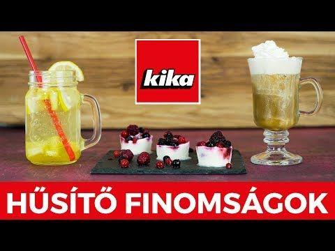 Hűsítő nyári Finomságok | Kika Magyarország - YouTube