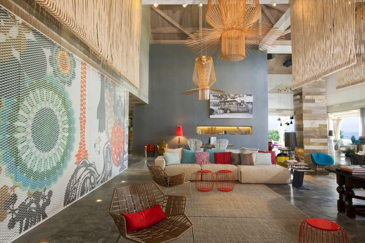 W Hotel retreat and spa Vieques Island by Patricia Urquiola