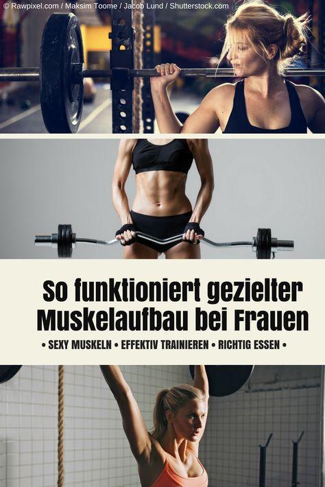 Hier verraten wir Euch, wie Ihr effektiv trainiert und richtig esst, um den Muskelaufbau voranzutreiben