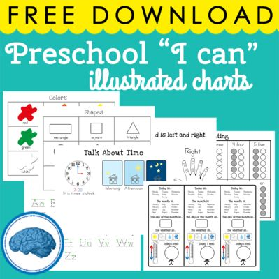 """STAR Binder - Preschool Edition   from Selma Dawani on TeachersNotebook.com -  (12 pages)  - The STAR binder is a set of reference sheets to use with preschoolers and kindergartners during circle time. I like to use each sheet as """"I can"""" statements before and after introducing lessons, so that the student has a type of anchor chart they"""