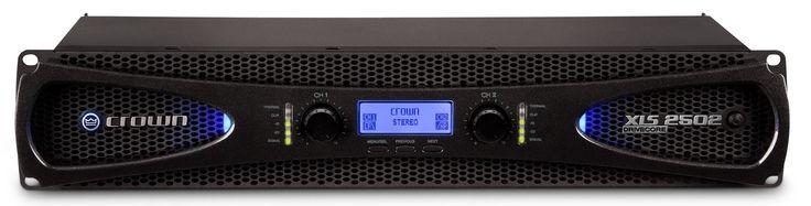 Crown XLS2502 Pro Audio Speaker Power Amplifier