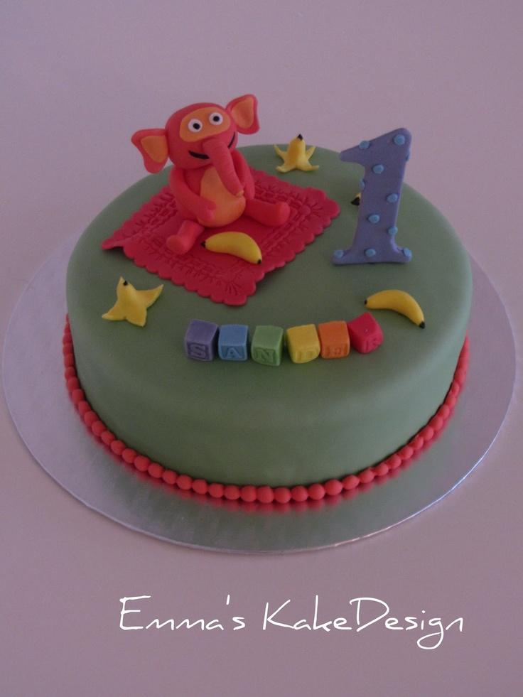 Fantorangen fondant cake