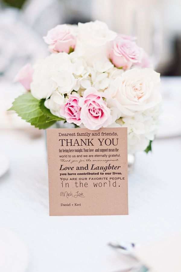Wording Ideas For Wedding Thank You Cards : + ideas about Wedding Thank You Wording on Pinterest Thank you card ...