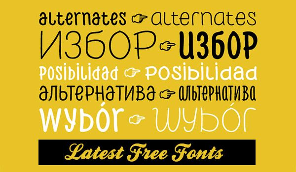The world of typography can be daunting, to say the least. For a few dollars, you can download thousands of fonts in just a few minutes and tens of thousands free fonts are available if you are willing to sort through them all. [mainimage] Not only are
