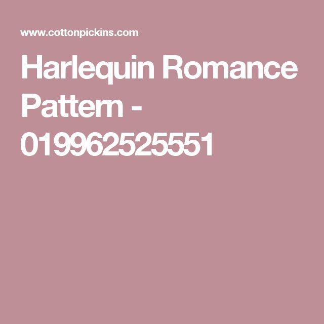 Harlequin Romance Pattern - 019962525551