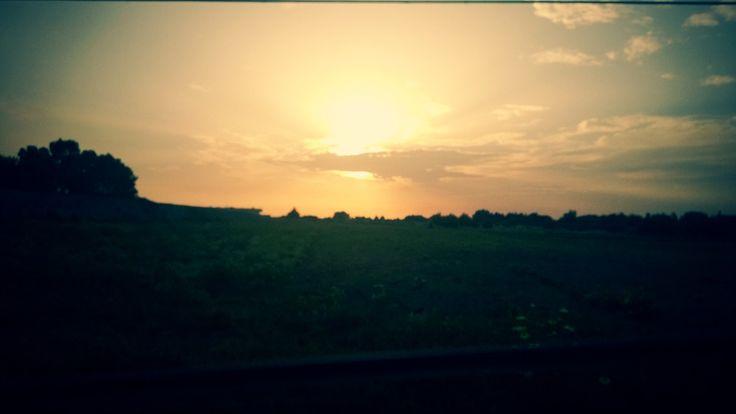 Salento sunset