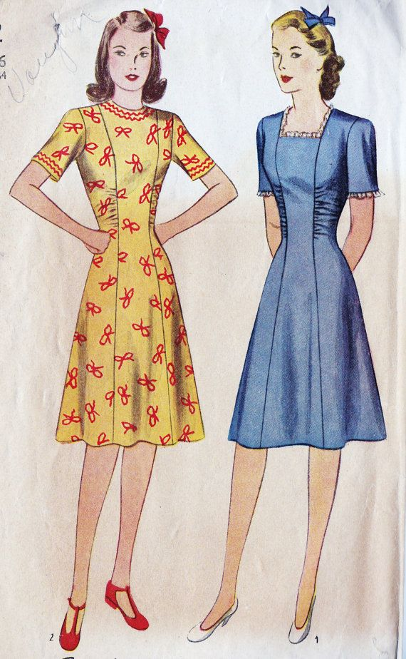 17 Best images about Vintage Dresses on Pinterest | Sewing ...