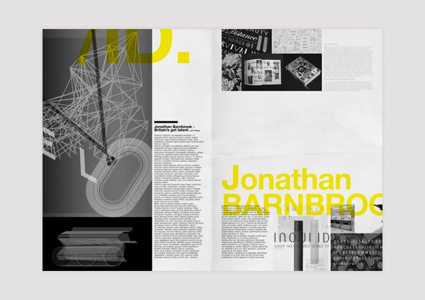 a/lab - Tabloid  |  EDITORIAL DESIGN by Andrea Mastroluca, via Behance