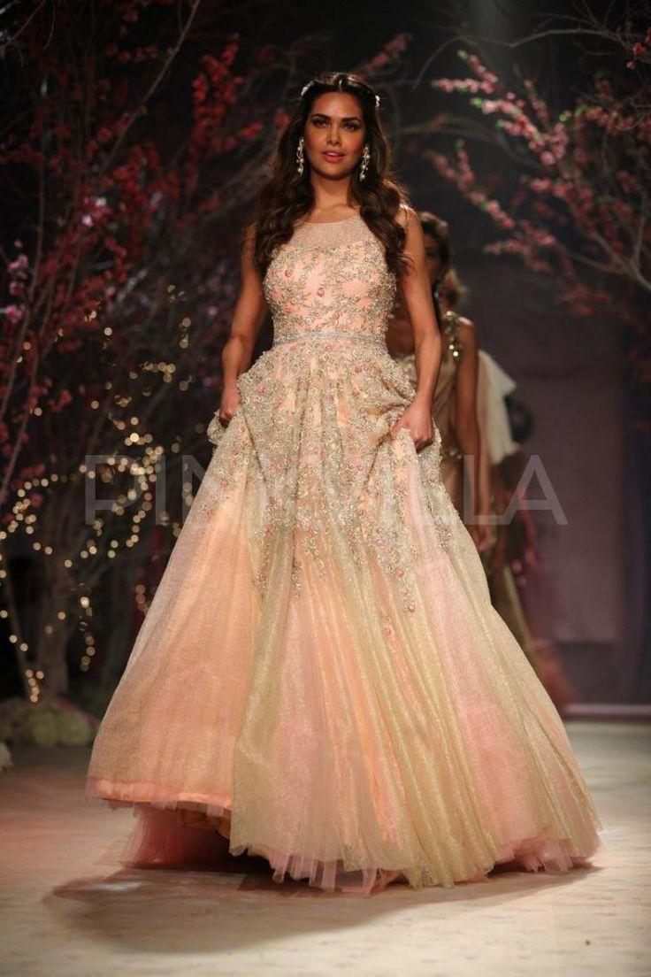 Esha Gupta walks for Jyotsana Tiwari   PINKVILLA