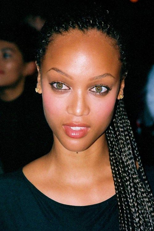 Young Tyra with pretty braids. | Tyra Banks | Pinterest ...