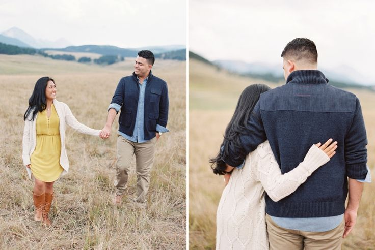MJ and Fredo | Big Sky Engagement | Fine Art Film Photography
