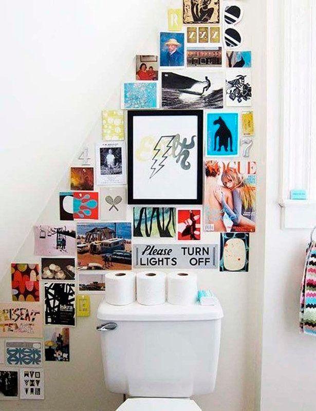 Los baños (pequeños) más inspiradores