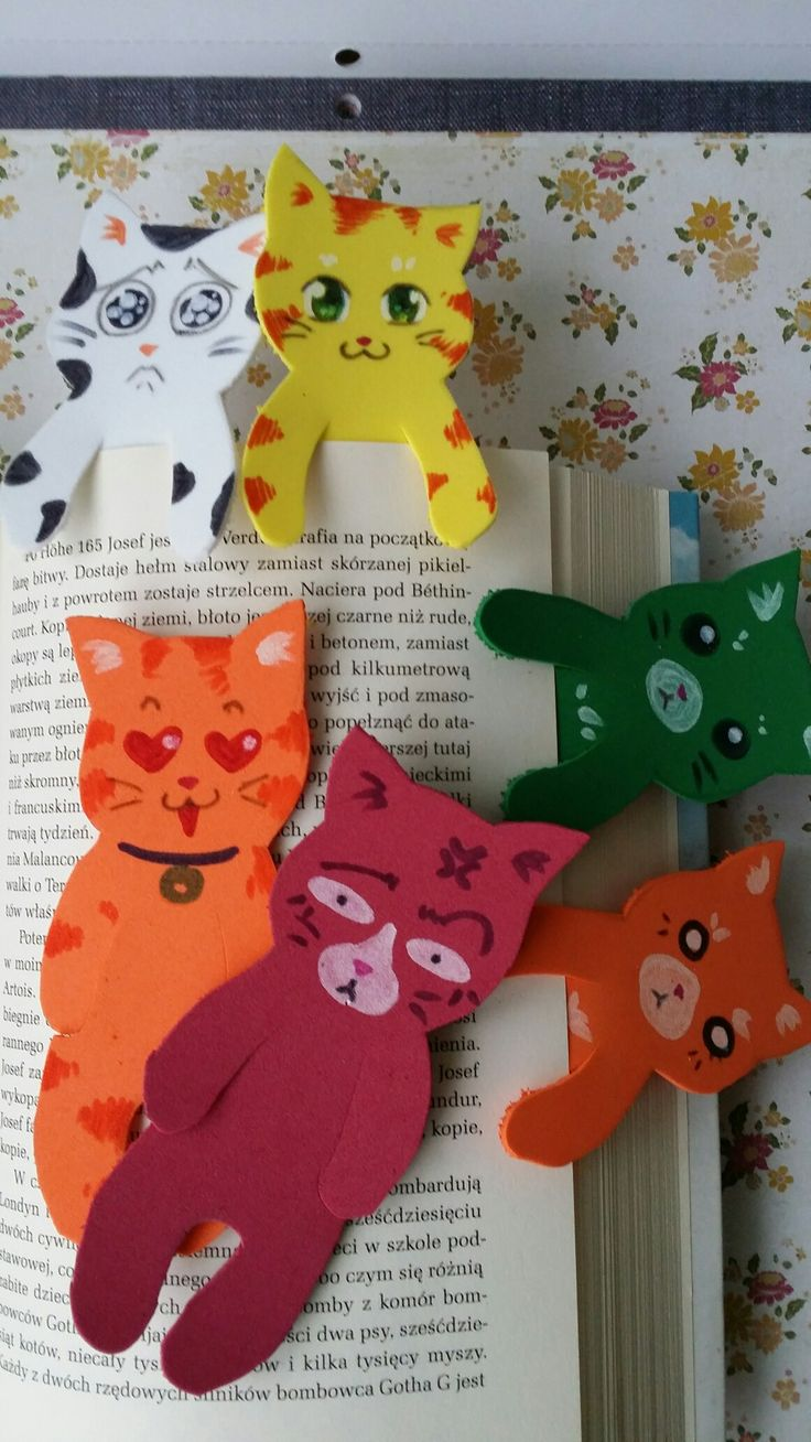 Cat bookmarks!!