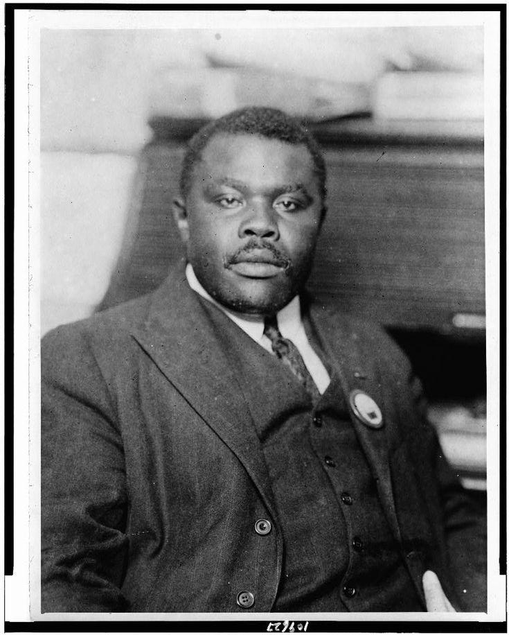 Marcus Garvey (1887-1940) political leader, journalist, publisher, entrepreneur, orator