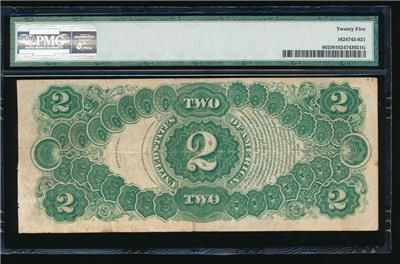Spectacular AC Fr 60 1917 $2 Legal Tender PMG 25 https://www.paper-money-collector.com/product/ac-fr-60-1917-2-legal-tender-pmg-25/ #Currency #UnitedStates