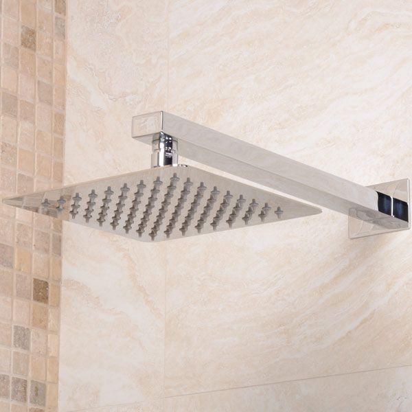 UltraThin Designer Square 200mm Shower Rose