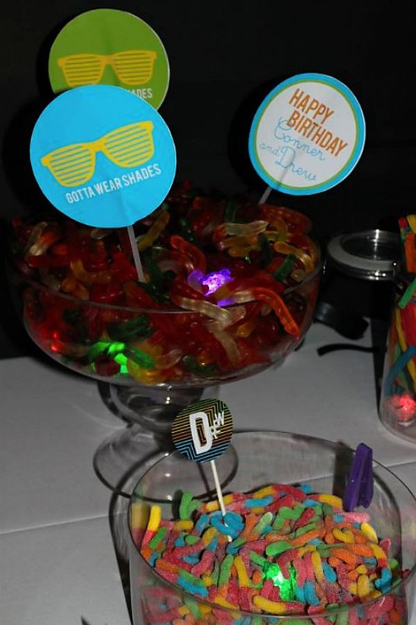 Wants And Wishes Party Planning Neon Glow In The Dark