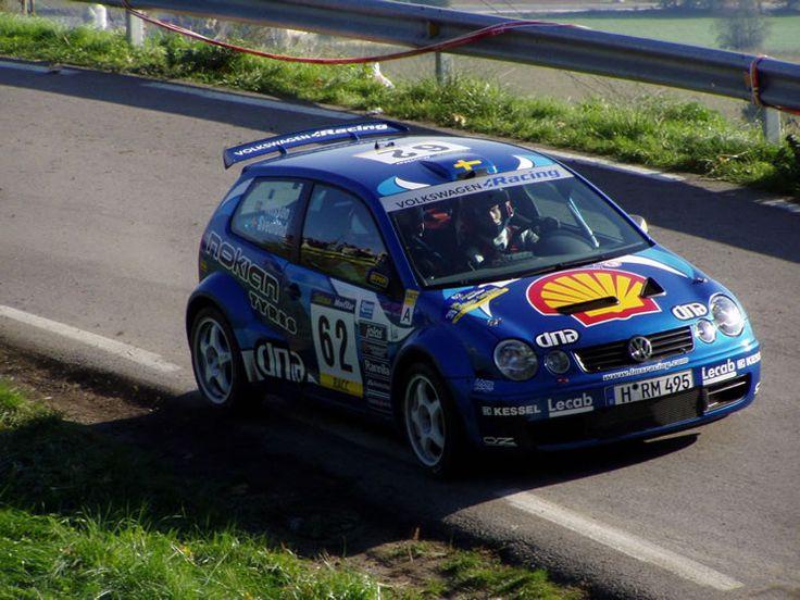 VW Polo S1600 WRC 2003 Oscar Svedlund #motorsport #racing #rallye #car #motor #passion #sport
