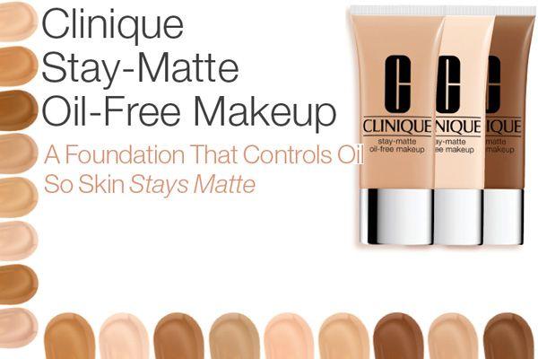 Clinique Stay-Matte Oil-Free Foundation