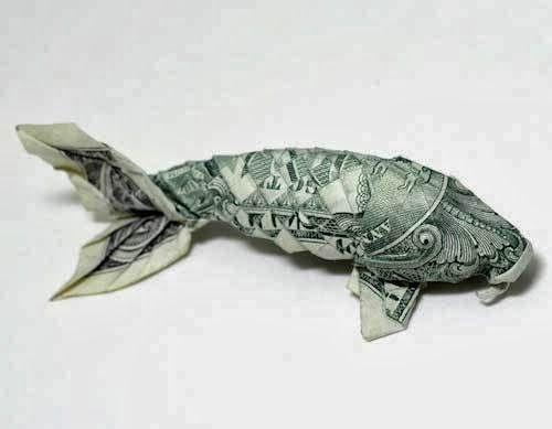Kreasi Unik Terbuat Dari Uang Dollar Aslli