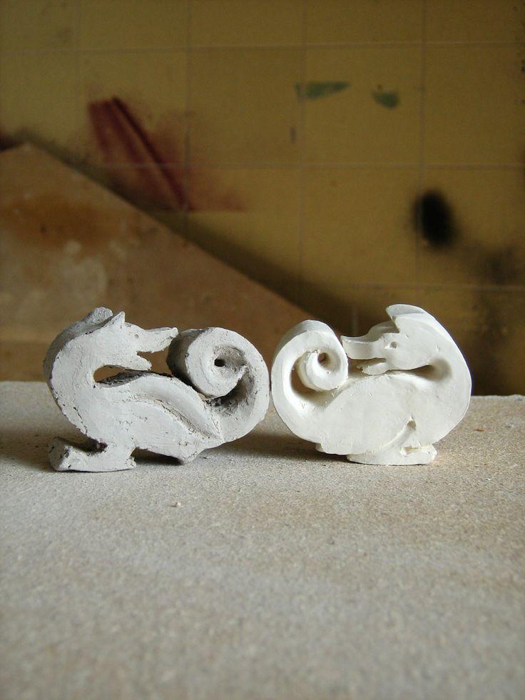 two dragons by Anikó Udvari