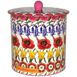 Emma Bridgewater Allover floral biscuit barrel - Shabby Chic Storage