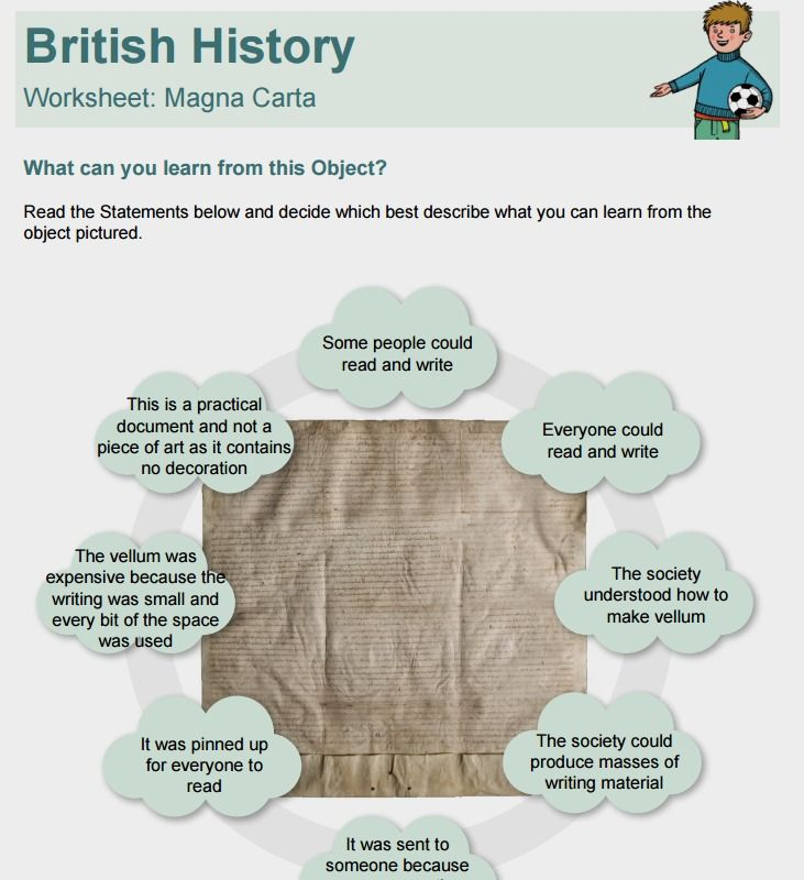Printables Magna Carta Worksheet 1000 images about magna carta project on pinterest medieval bbc worksheet to discuss the magnacarta britishvalues ks1 ks2