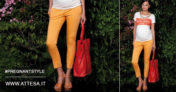 Tagli essenziali e colori vitaminici.   Chi l'ha detto che i #pantaloni sono noiosi?