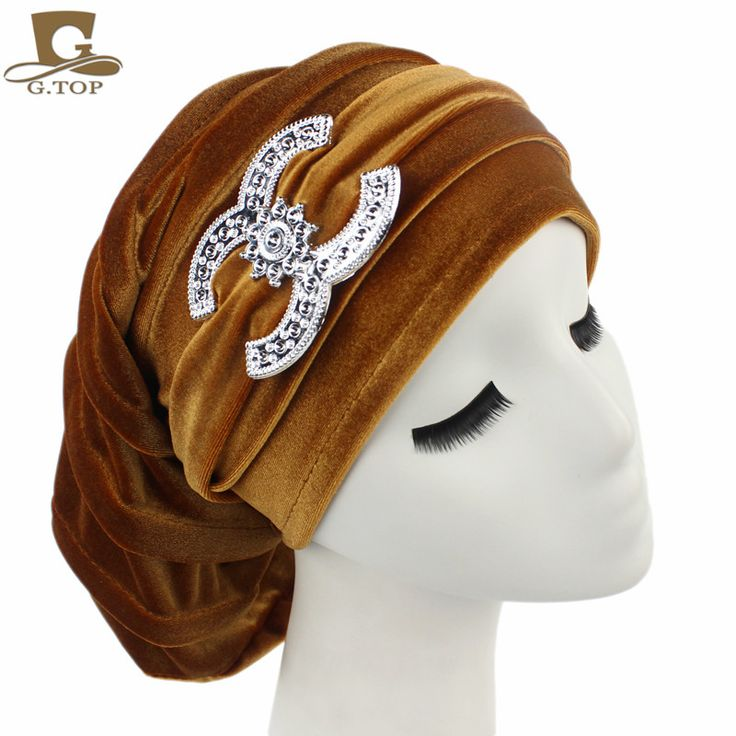 >> Click to Buy << NEW Velvet Turban Chemo Baggy Hat Beany Slouch Cap Bandana Hair Loss Bonnet Tube #Affiliate