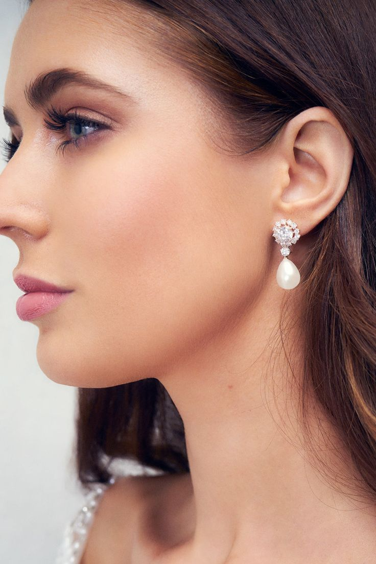 Anna Campbell Valencia Pearl Earrings