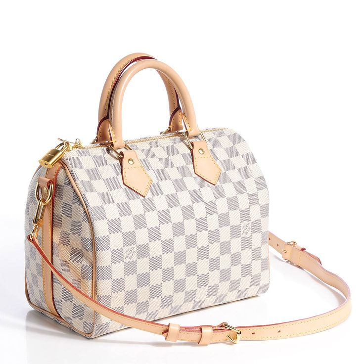 LOUIS VUITTON Damier Azur Speedy Bandouliere 25 bag, сумки модные брендовые, http://bags-lovers.livejournal.com/