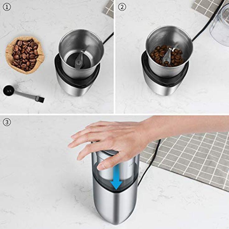 SHARDOR Electric Coffee Bean Grinder, Spice Grinder, 1