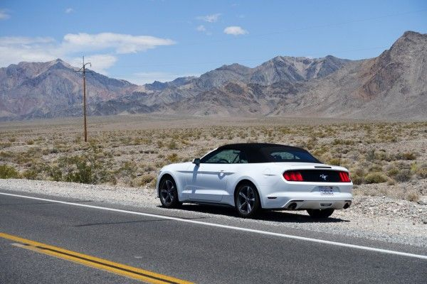 West Coast Ride In Ford Mustang 2 3l Ecoboost Bva Convertible