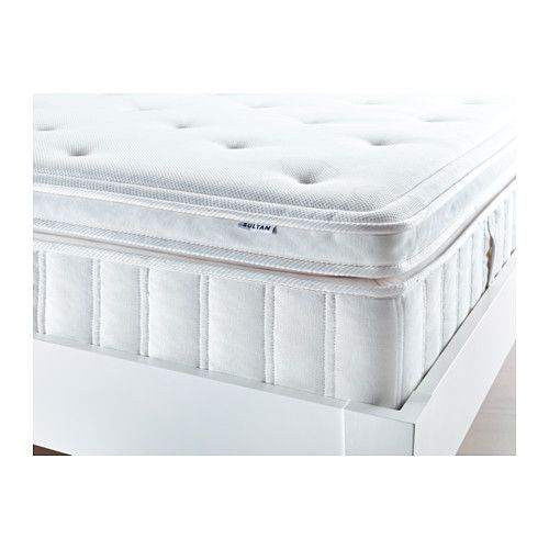 SULTAN HULTSVIK Memory Foam Pillowtop Mattress IKEA   $650, Has A Pillowtop.