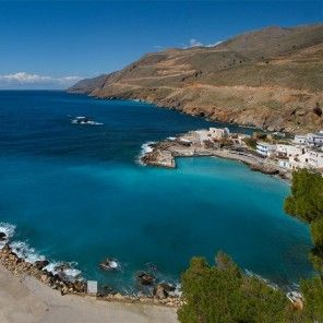 Crete, Greece's southernmost island in the Mediterranean, just gorgeous for anyone who would like to combine a self-guided walking trip, enjoying the warm sunny weather and soaking up Greece's rich culture and history.