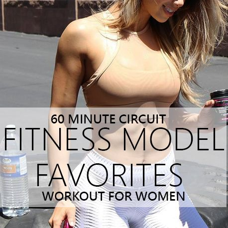 This fitness girl workout builds a circuit with moves from Instagram's top fitness models. Check out the post for their videos and exercise descriptions.