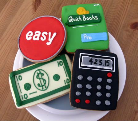 so awesome! tax, accountant...etc...Ana could you make some of these for us during the next tax season?