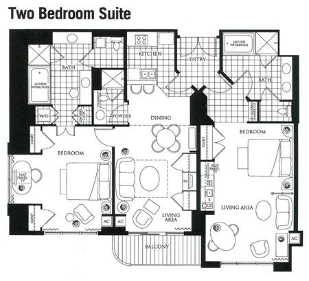 15 must see mgm signature suites pins mgm signature mgm grand signature and signature at mgm for Mgm signature 2 bedroom suite floor plan