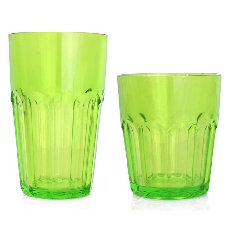 Guzzini Happy Hour Green Tumblers