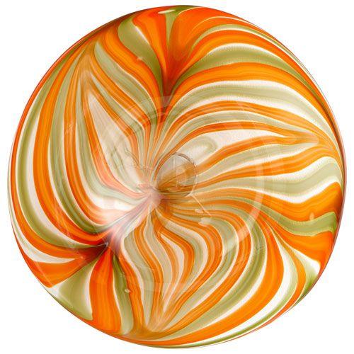 Chika Orange Plate