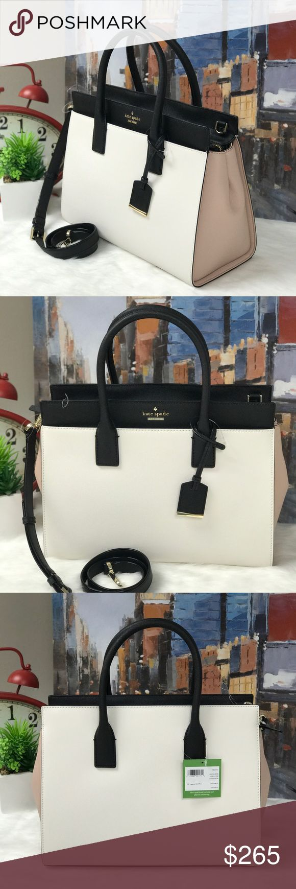 ‼️MARKDOWN‼️ Cameron Street Large Candace ♥️This Satchel is super elegant and always in style. The material is easy to clean and you have all the spaces you need for all your stuff. kate spade Bags Satchels