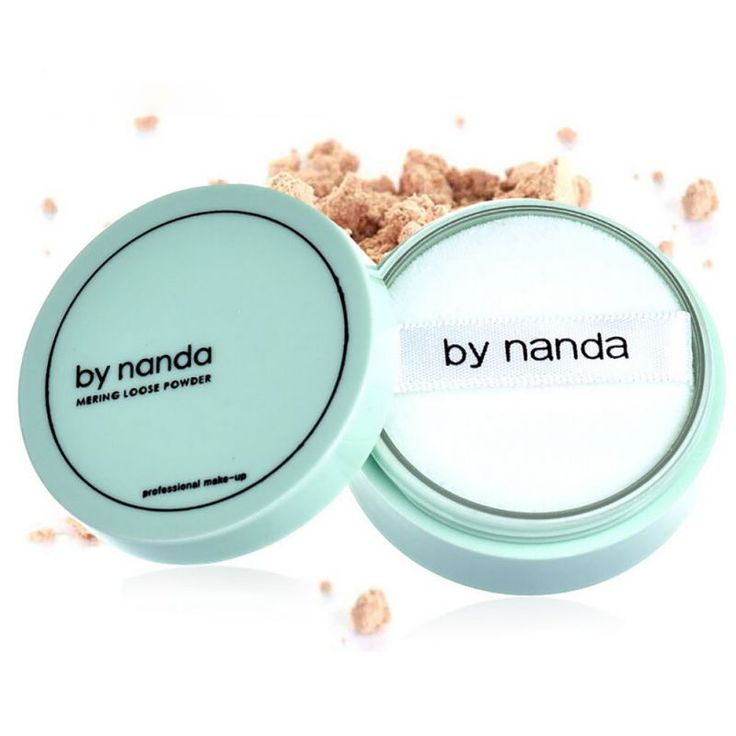 Translucent Pressed Powder with Puff Smooth Face Makeup Foundation Waterproof Loose Skin Finish Setting Powder Maquiagem