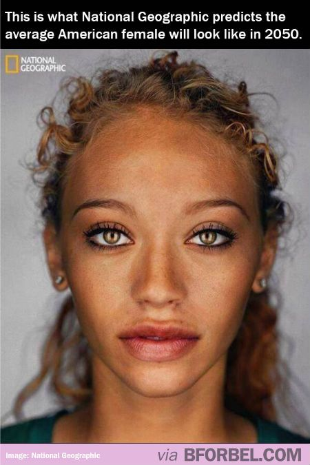 What The Average American Woman Will Look Like in 2050 ...