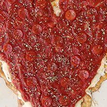 Pretzel Crisps® Pizza Heart
