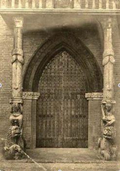 Nicholaus, leoni protiro duomo di Ferrara, già villa Massari Santa Maria di Fabriago, LUgo (RA)