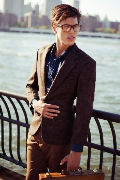81 best groomsman images on Pinterest Navy sport coat  : 46414ae2392e97e5ad0bee6c7a6b688e brown suits brown jacket from www.pinterest.com size 400 x 600 jpeg 38kB