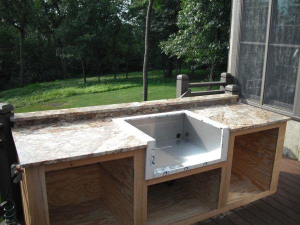 The 25 best modular outdoor kitchens ideas on pinterest backyard kitchen outdoor grill area - Ulaelu outdoor kitchen ...