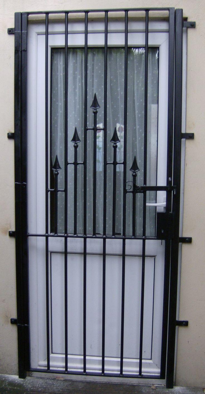 193 best porte de s curit en fer forge images on pinterest iron doors entrance doors and for Model porte en fer forge